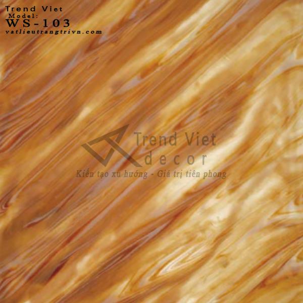 Đá xuyên sáng vân gỗ nhân tạo
