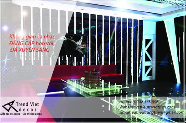 Vật liệu trang trí phòng hát karaoke 6