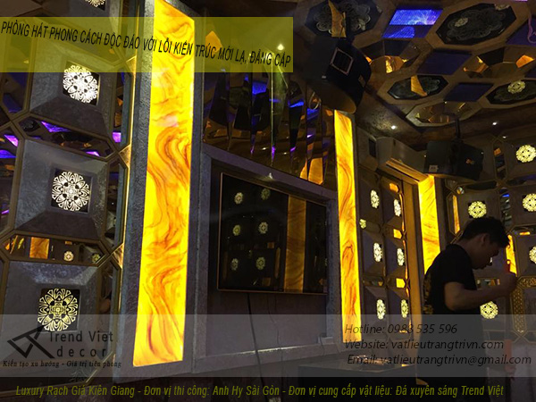 Vật liệu trang trí phòng hát karaoke 4