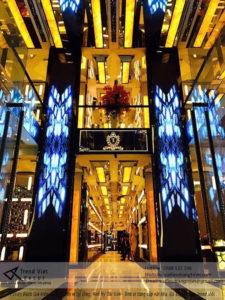 công trinh đá xuyên sáng tại luxury rạch giá kiên giang