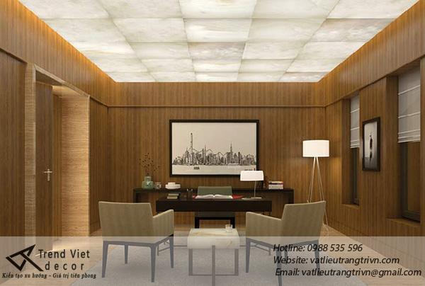 Đá xuyên sáng trong kiến trúc resort cao cấp