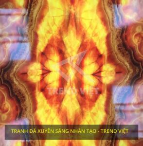 Tranh đá xuyên sáng nhân tạo Trend Việt