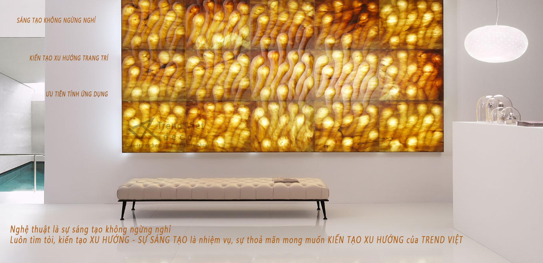 Đá xuyên sáng Trend Việt - sáng tạo không ngừng
