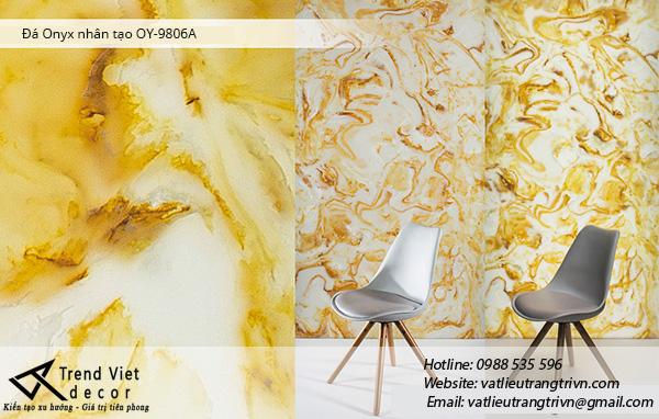 Giá cả đá xuyên sáng onyx ưu đãi bất ngờ - đá onyx OY9206A