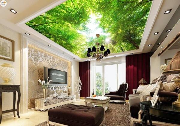 trần nhà xuyên sáng vũ khí biến căn phòng thành khách sạn 5 sao