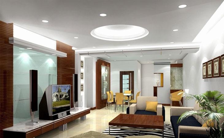 không gian nội thất phòng khách đẹp 4