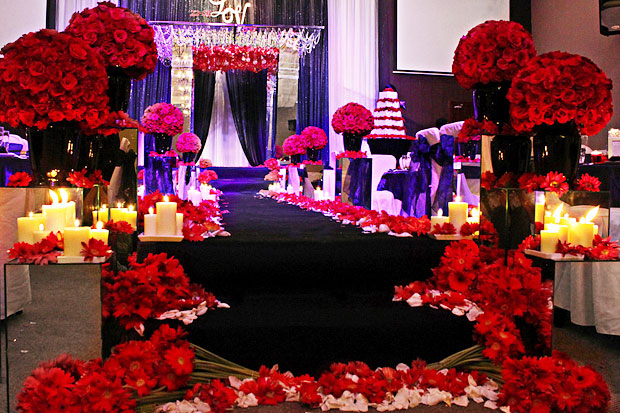 trang trí nhà hàng tiệc cưới 3