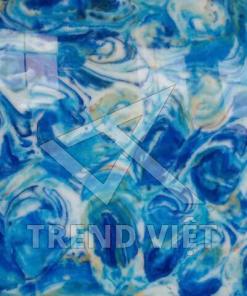Dung nham màu sắc blue 02
