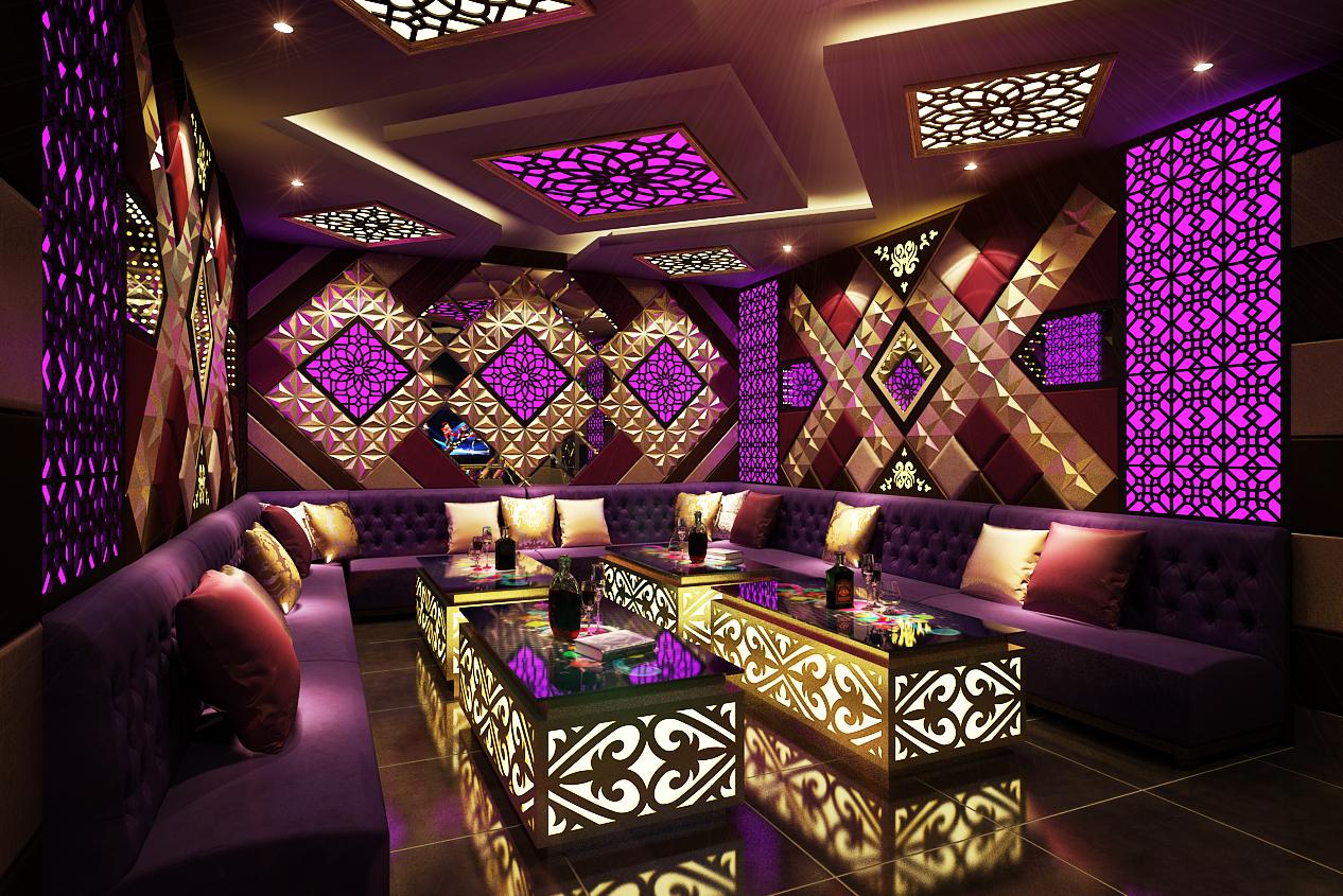 Vật liệu trang trí phòng hát karaoke 1