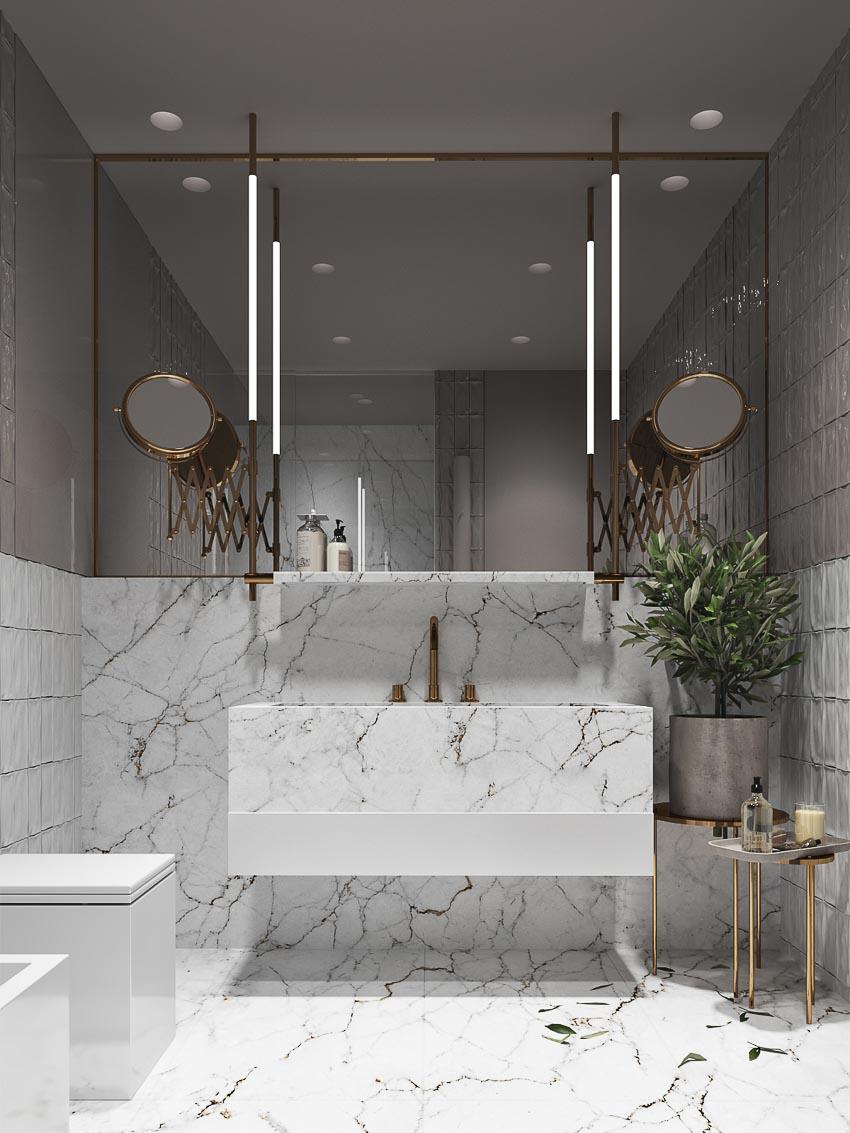 nội thất nhà tắm đẹp 1